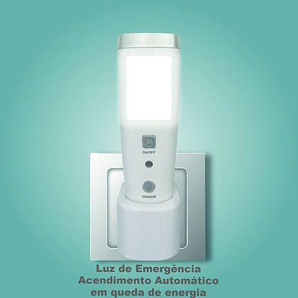 Luminária Led com Sensor e Lanterna Slim Solver SLM-301  - MRE Ferramentas