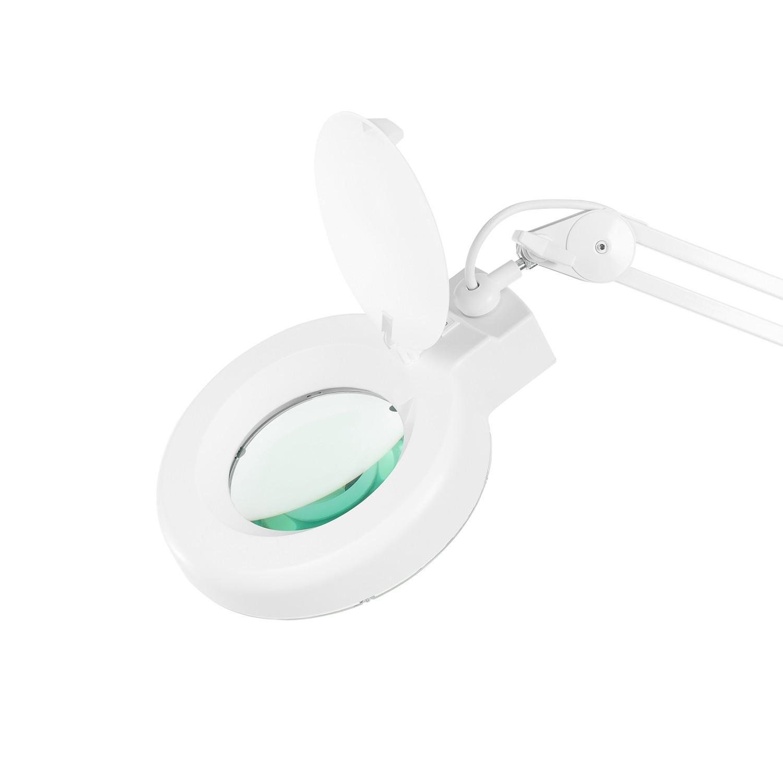 Lupa 5X Luminária LED Tripé e 03 Bandejas Solver HL-500  - MRE Ferramentas