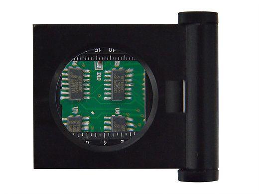 Lupa Conta Fios LED Solver SLF-125  - MRE Ferramentas