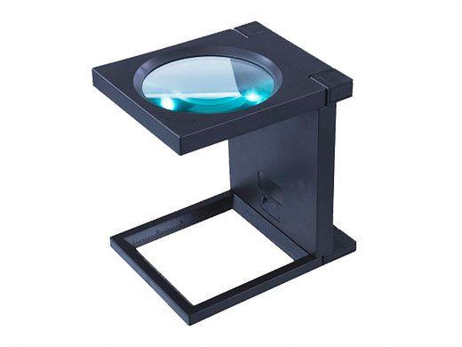 Lupa Conta Fios LED Solver SLF-190  - MRE Ferramentas