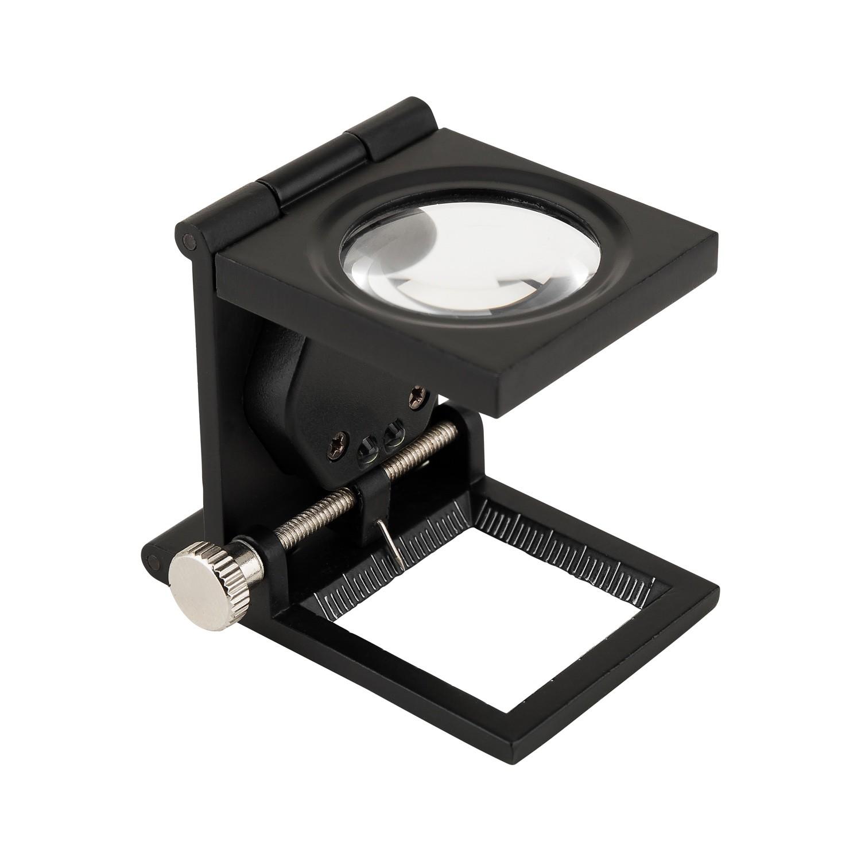 Lupa Conta-Fios Metal LED Solver SLF-130M  - MRE Ferramentas
