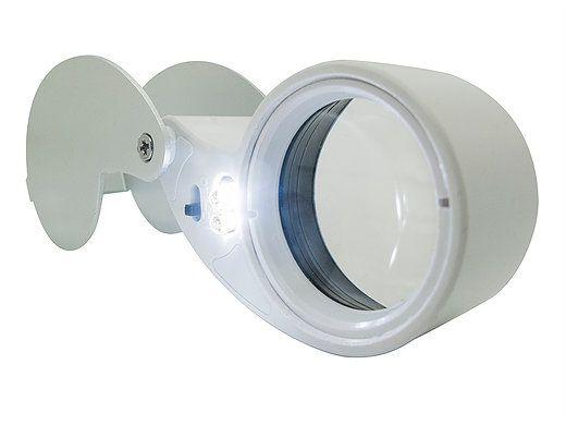 Lupa de Bolso LED Solver SLD-130  - MRE Ferramentas