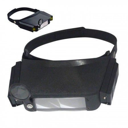 Lupa de Cabeça com LED DS-Tools DS-7102  - MRE Ferramentas