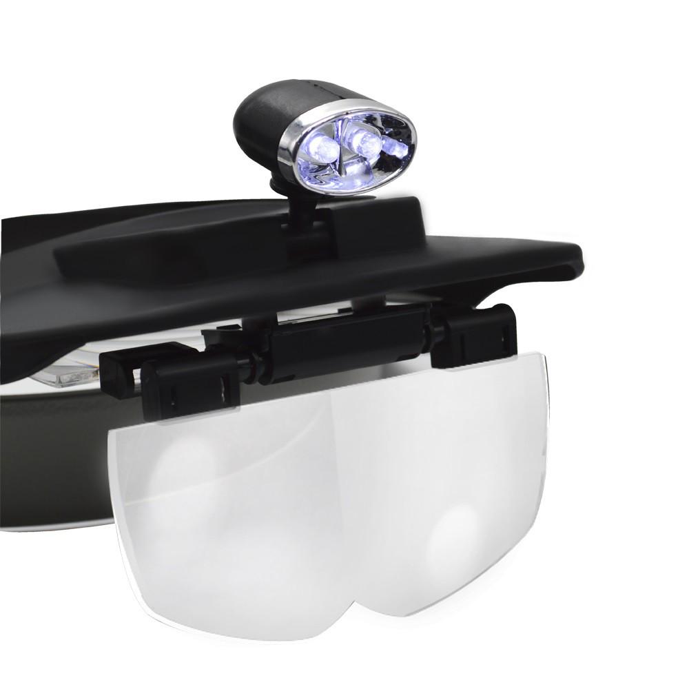 Lupa de Cabeça com LED Solver SLC-1009  - MRE Ferramentas