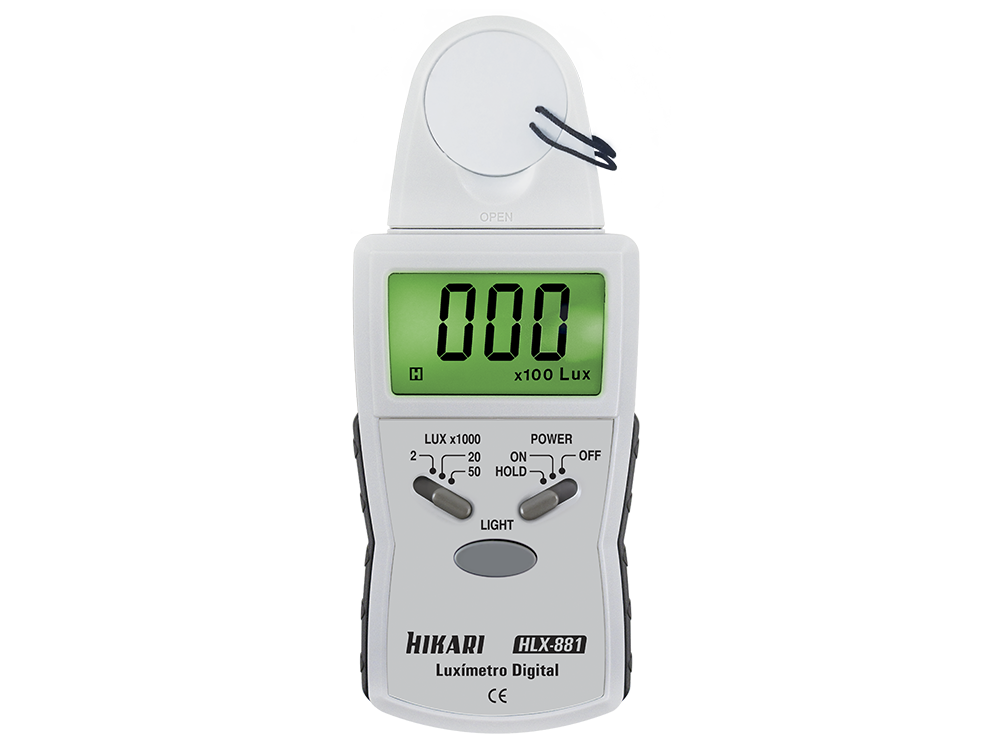 Luxímetro Digital Hikari HLX-881  - MRE Ferramentas
