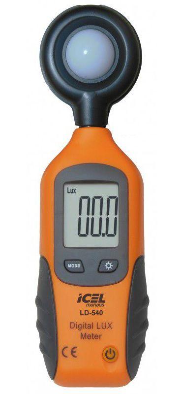 Luxímetro Digital Icel LD-540  - MRE Ferramentas