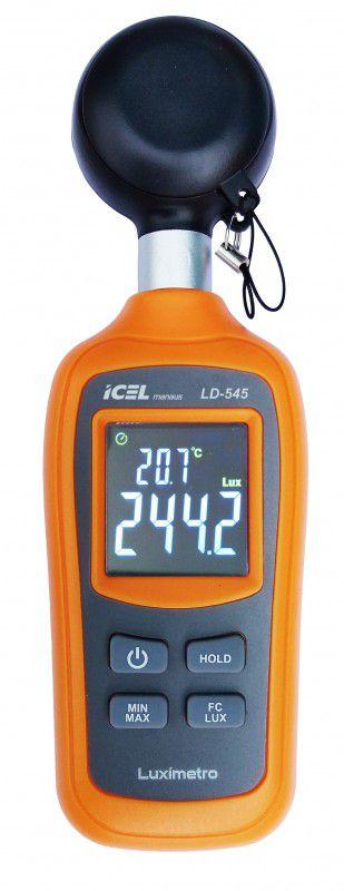 Luxímetro Digital Icel LD-545  - MRE Ferramentas