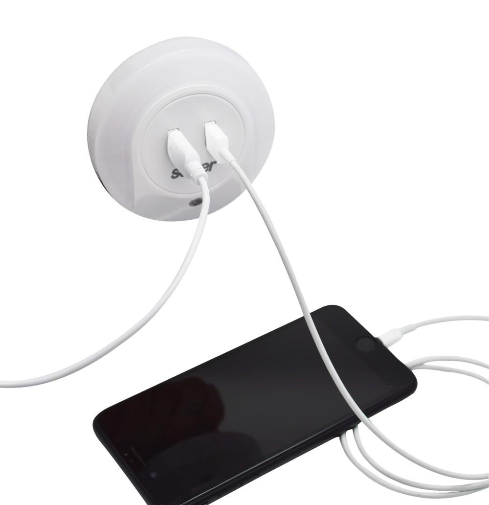 Luz Noturna LED com USB Solver SLM-205  - MRE Ferramentas