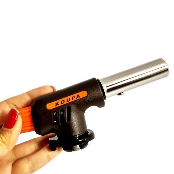 Maçarico Gás Butano C/ Ajuste E Acendimento Automático Koufa D-169  - MRE Ferramentas