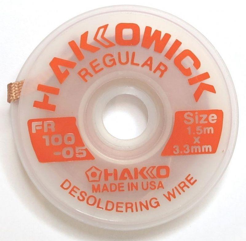 Malha Dessoldadora 3,3mm x 1,5m Hakko FR100-03  - MRE Ferramentas
