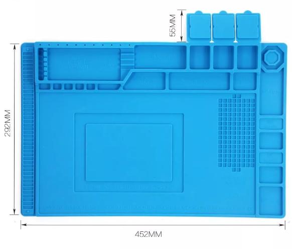 Manta Magnética Gabarito e Organizador 292 X 452MM  - MRE Ferramentas