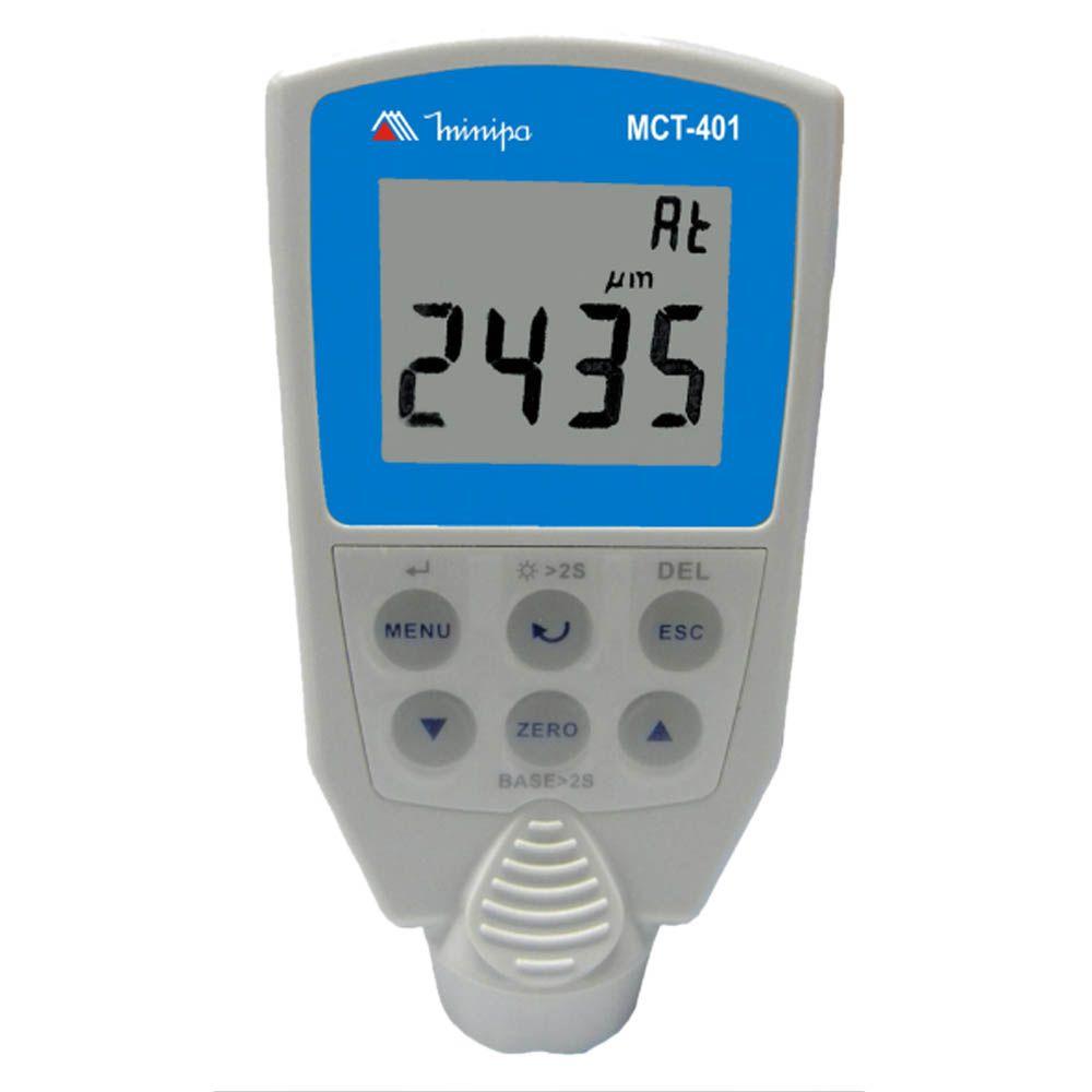 Medidor de Espessura de Camada Minipa MCT-401  - MRE Ferramentas