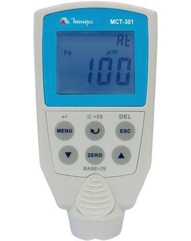Medidor de Espessura de Camada Minipa MCT-301  - MRE Ferramentas