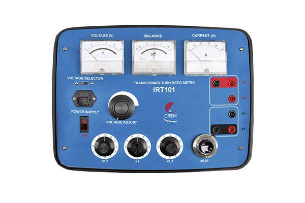 Medidor de Relação de Espiras de Transformadores Minipa IRT-101  - MRE Ferramentas