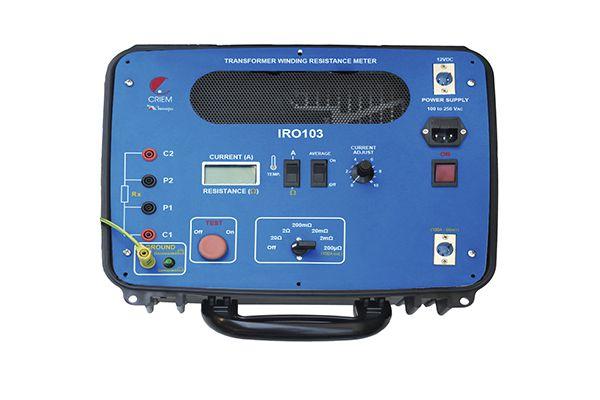 Medidor de Resistências de Enrolamentos de Transformadores Minipa IRO-103  - MRE Ferramentas