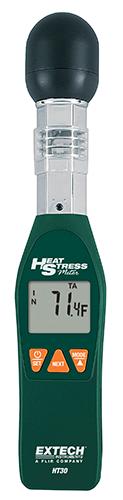 Medidor de tensão térmica WBGT (temperatura do globo de bulbo úmido) Extech HT30 (Refurbished)  - MRE Ferramentas