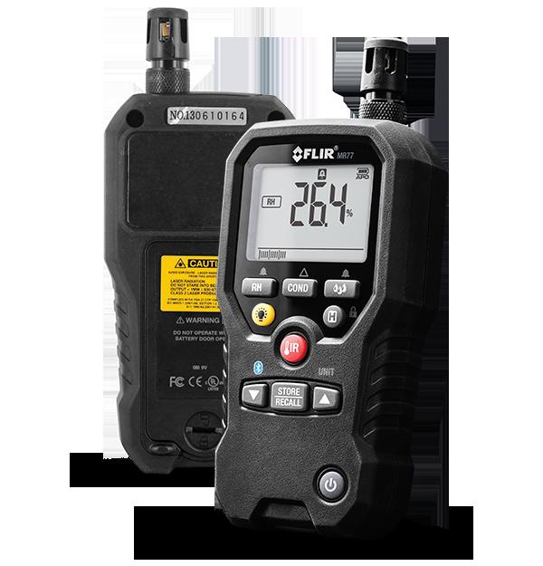 Medidor de Umidade 5 em 1 com METERLINK™ Flir MR77  - MRE Ferramentas