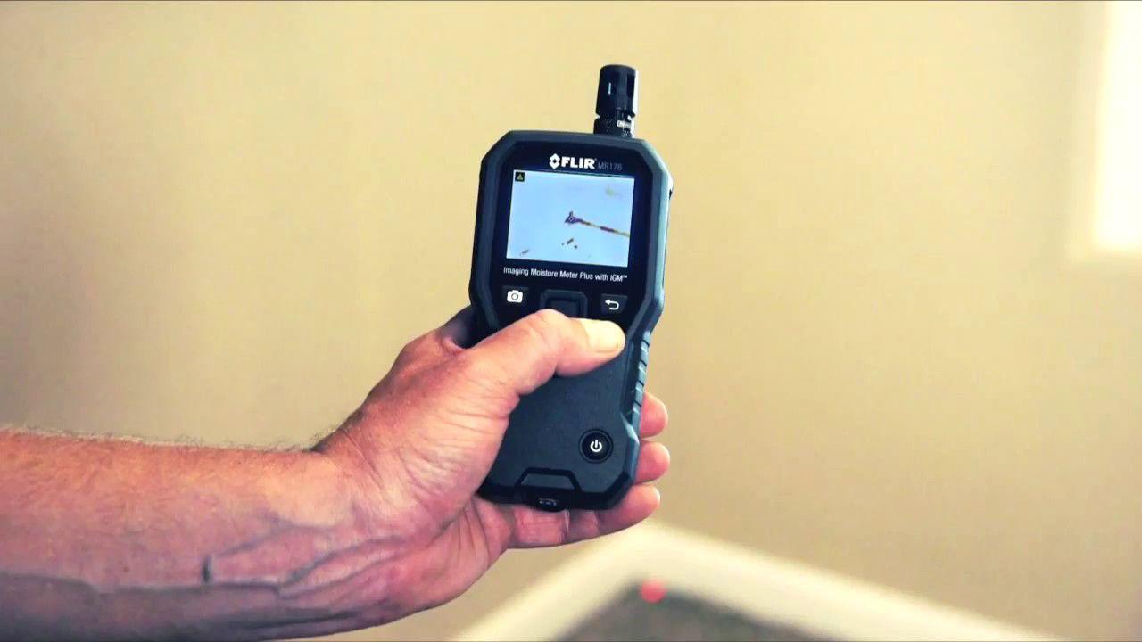 Medidor de Umidade com Imagem Térmica Flir MR176  - MRE Ferramentas