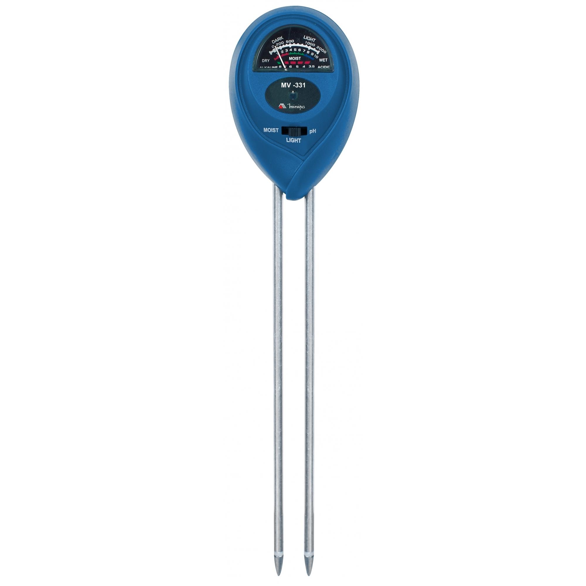Medidor de Umidade do Solo Minipa MV-331  - MRE Ferramentas
