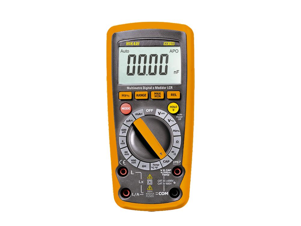 Medidor LCR Digital Hikari HX-110  - MRE Ferramentas