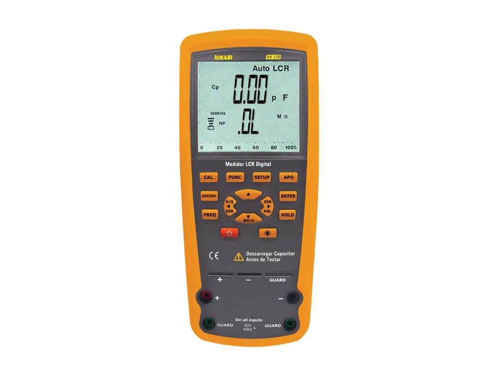 Medidor LCR Digital Hikari HX-120  - MRE Ferramentas