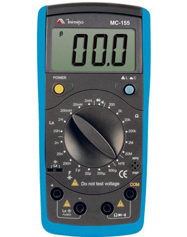 Medidor LCR Minipa MC-155  - MRE Ferramentas