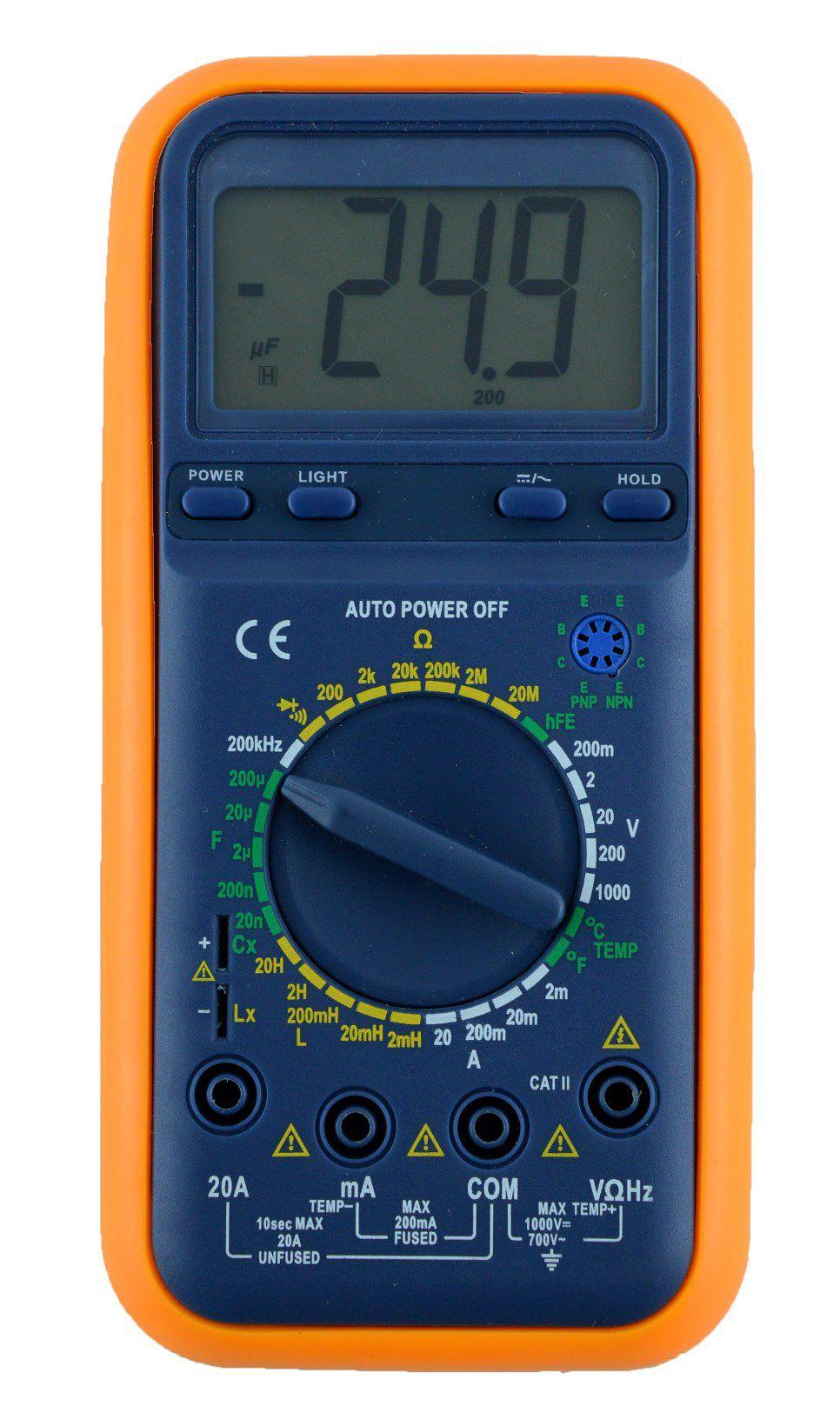 Medidor RLC Digital Instrutherm RLC-820  - MRE Ferramentas