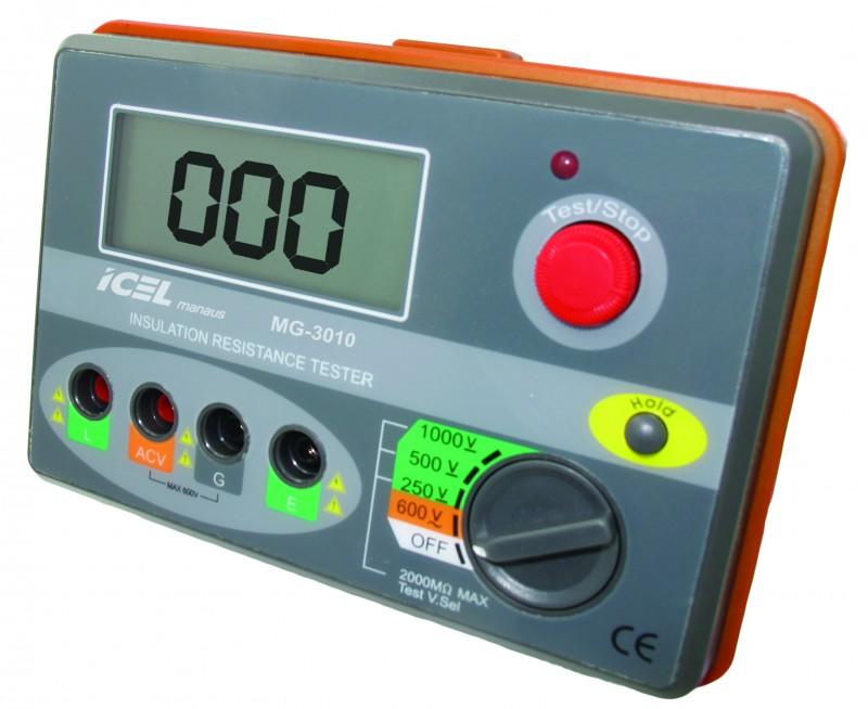 Megômetro Digital Icel MG-3010  - MRE Ferramentas