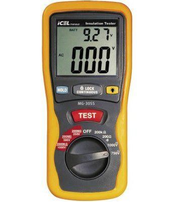 Megômetro Digital Icel MG-3055  - MRE Ferramentas