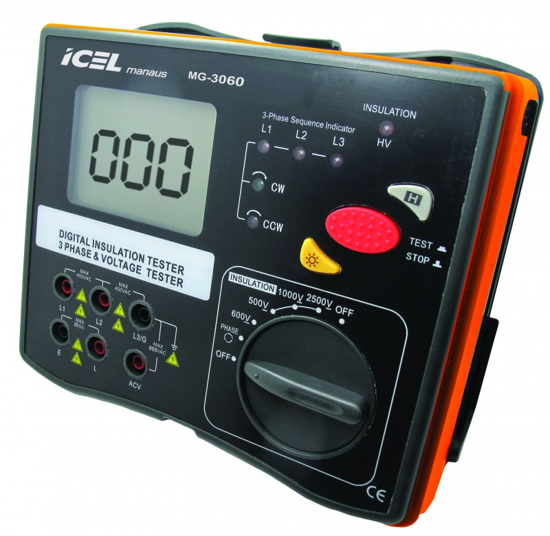 Megômetro Digital Icel MG-3060  - MRE Ferramentas