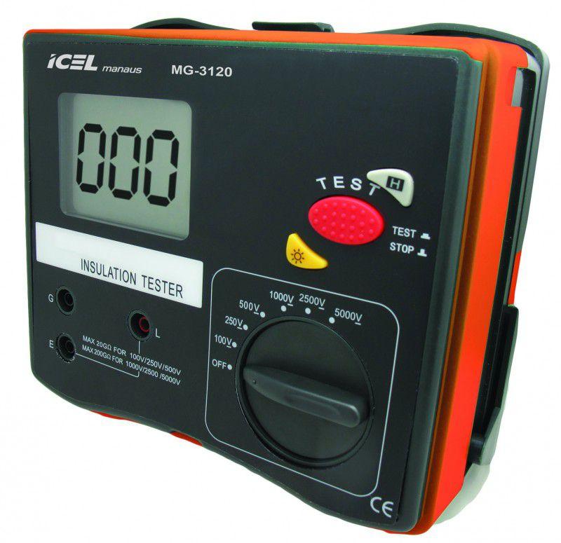 Megômetro Digital Icel MG-3120  - MRE Ferramentas