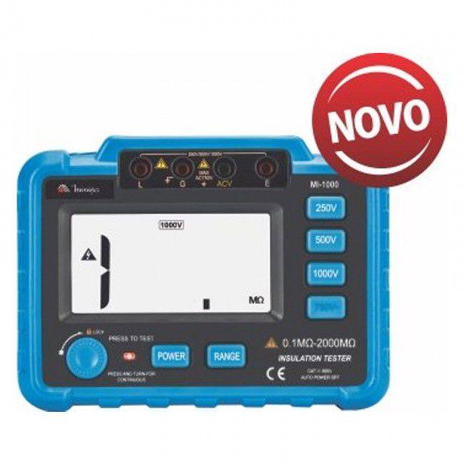 Megômetro Digital Minipa MI-1000  - MRE Ferramentas