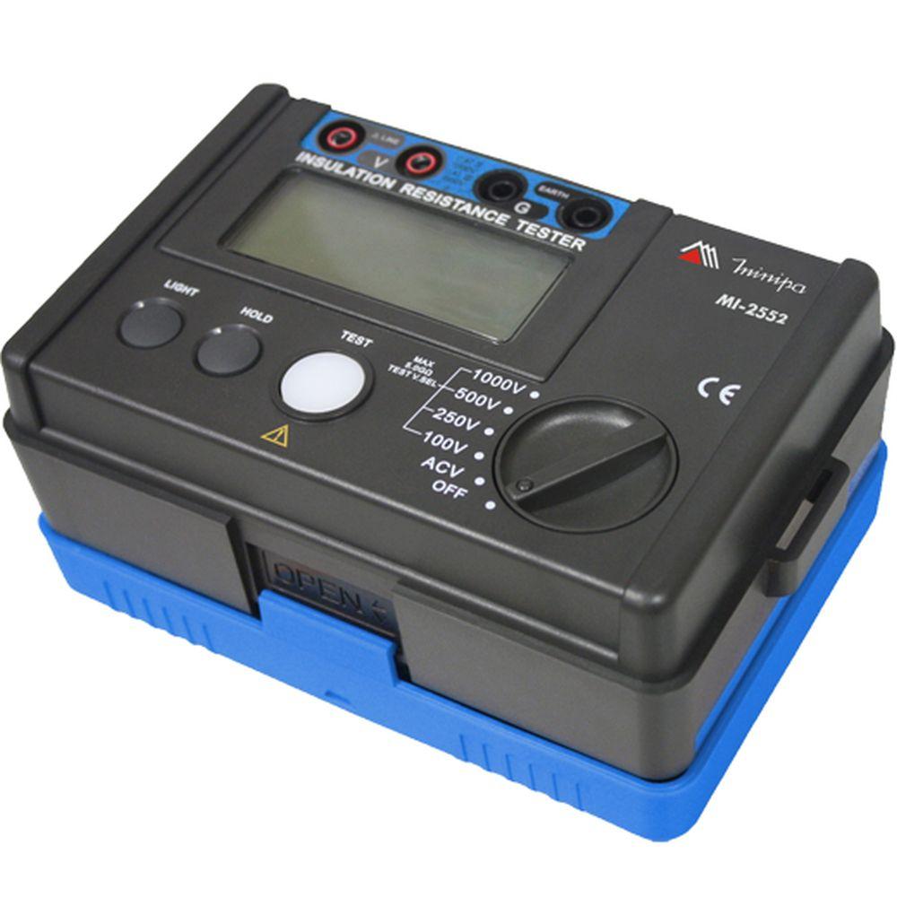 Megômetro Digital Minipa MI-2552  - MRE Ferramentas
