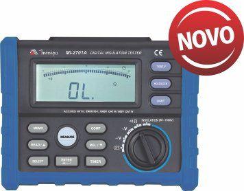 Megômetro Digital Minipa MI-2701A  - MRE Ferramentas