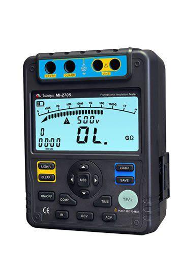 Megômetro Digital Minipa MI-2705  - MRE Ferramentas