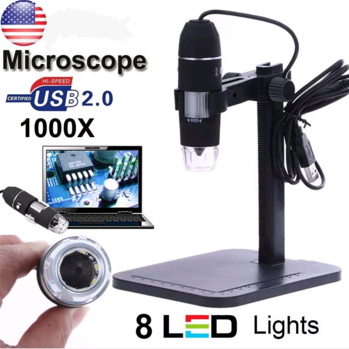 Microscopio Digital USB 1000x  - MRE Ferramentas