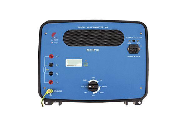 Miliohmímetro Digital 10A Minipa MCR-10  - MRE Ferramentas