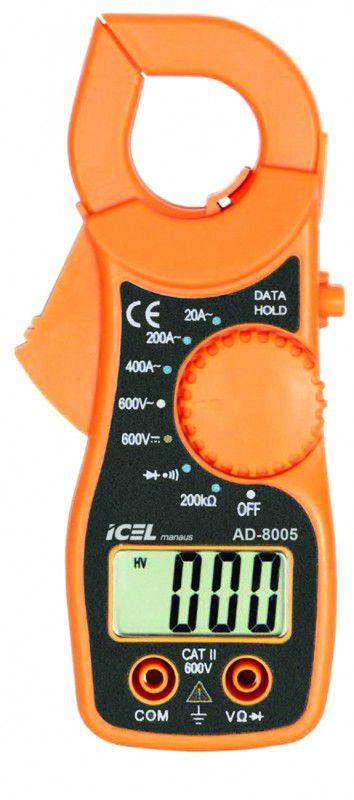 Mini Alicate Amperímetro Digital Icel AD-8005  - MRE Ferramentas