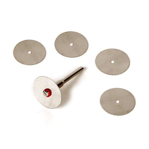 Mini Disco 22mm Serra Circular Micro Retifica Dremel C/5+1  - MRE Ferramentas
