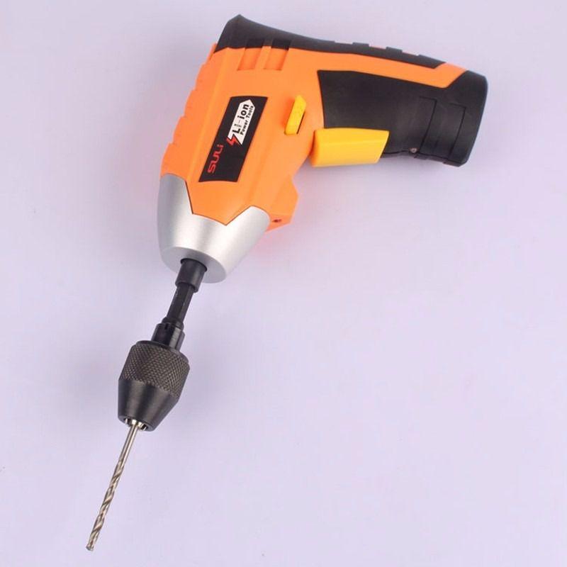 Mini Mandril Para Parafusadeira Haste 1/4 Micro Retifica 8mm  - MRE Ferramentas