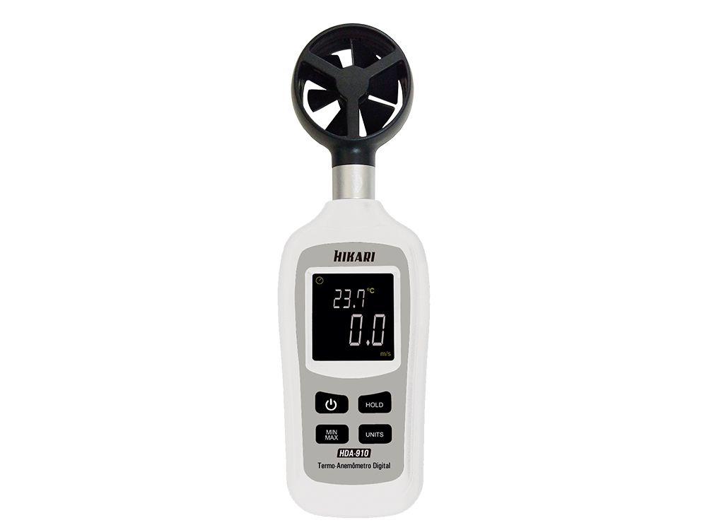 Mini Termo-Anemômetro Hikari HDA-910  - MRE Ferramentas