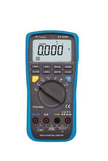 Mltímetro/Megômetro 1KV Cat IV Data Logger TRUE RMS MINIPA  ET-2780  - MRE Ferramentas