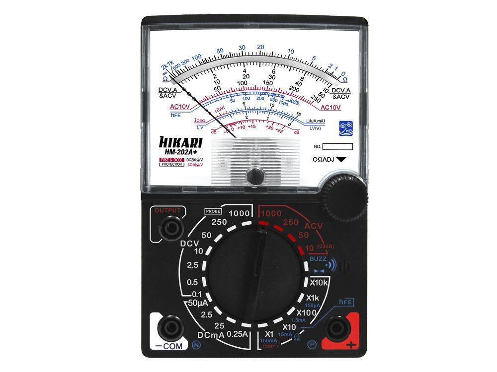 Multímetro Analógico Hikari HM-202A+  - MRE Ferramentas