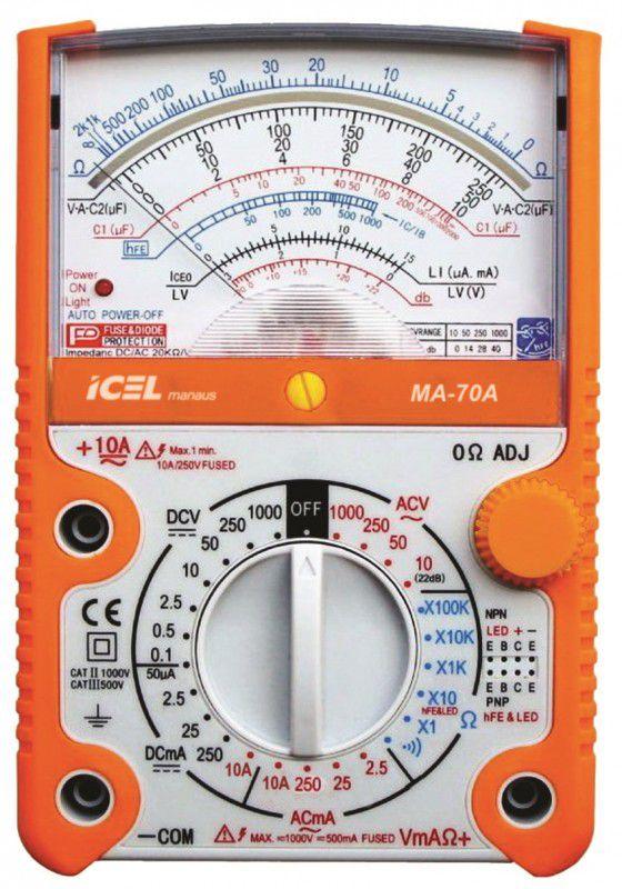 Multimetro Analógico Icel MA-70A  - MRE Ferramentas