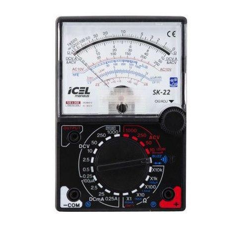 Multimetro Analógico Icel SK-22  - MRE Ferramentas