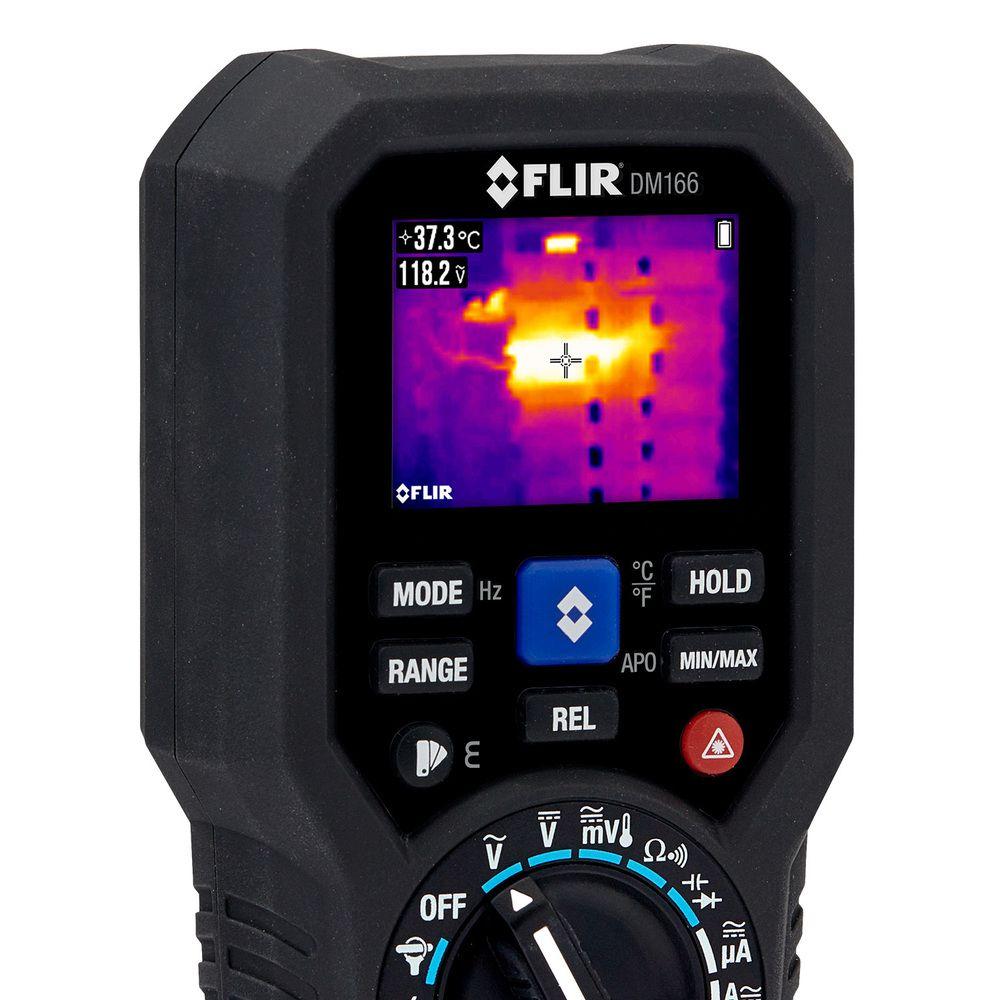Multímetro Digital com Imagem Térmica Integrada Flir DM166  - MRE Ferramentas