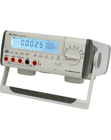 Multímetro de Bancada 4 3/4 (40000) True RMS-Data Logger-USB-CAT II Minipa MDM-8145A  - MRE Ferramentas