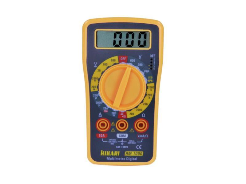 Multímetro Digital Hikari HM-1000  - MRE Ferramentas