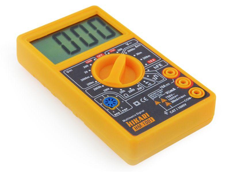Multímetro Digital Hikari HM-1001  - MRE Ferramentas