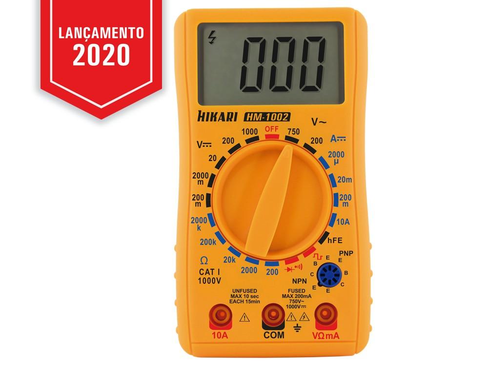 Multímetro Digital Hikari HM-1002  - MRE Ferramentas